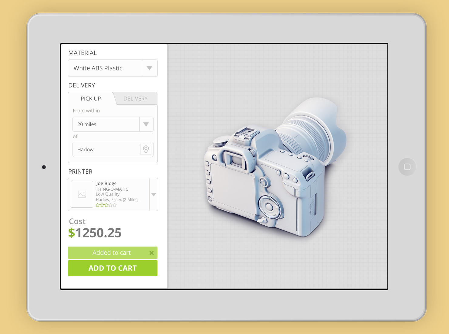 3d printing application ui whale shark studio 3d design application