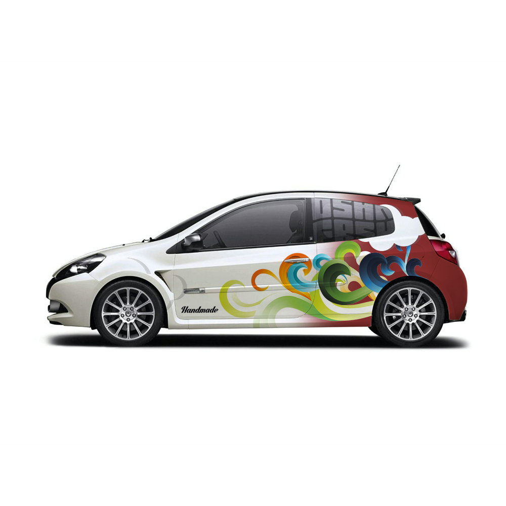 Design car wrap - Oshn Frsh Car Wrap Design