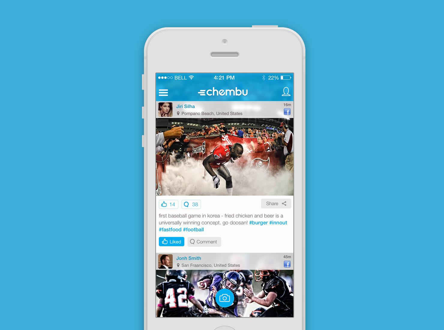 Chembu App UI Design